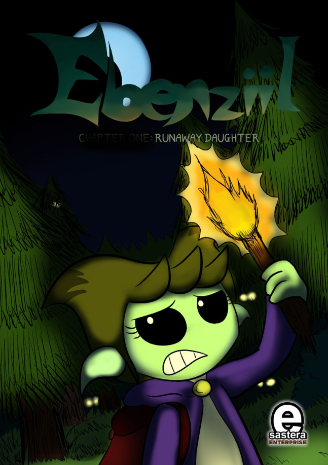 This image has an empty alt attribute; its file name is ebenziil-runaway-daughter-cover-depan.png